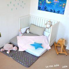 Lit Enfant Au sol Élégant Lit Au sol Montessori Pour Bébé Bébé