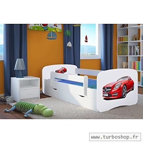Lit Enfant Avec Barriere De Luxe Lit Enfant Mercedes 80 Cm X 160 Cm Avec Barriere De Securite
