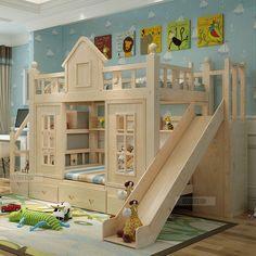 Lit Enfant Avec toboggan Inspiré 229 Meilleures Images Du Tableau Lit Superposé