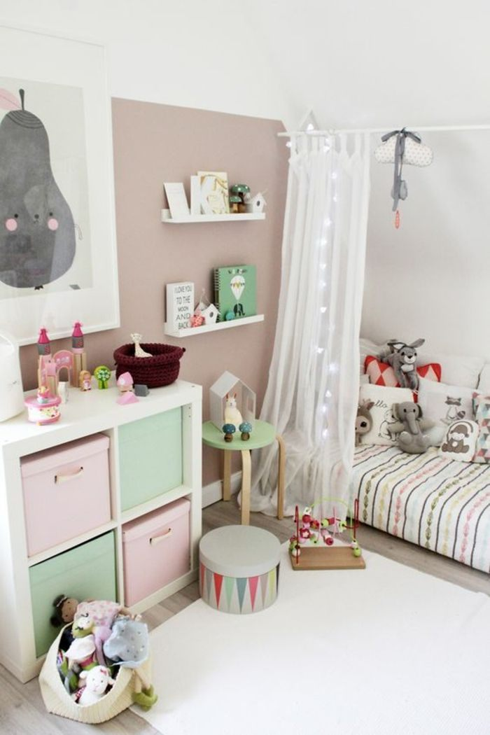 Lit Enfant Blanc Inspiré ▷ 1001 Idées Pour Une Chambre Avec Lit Montessori Ambiances