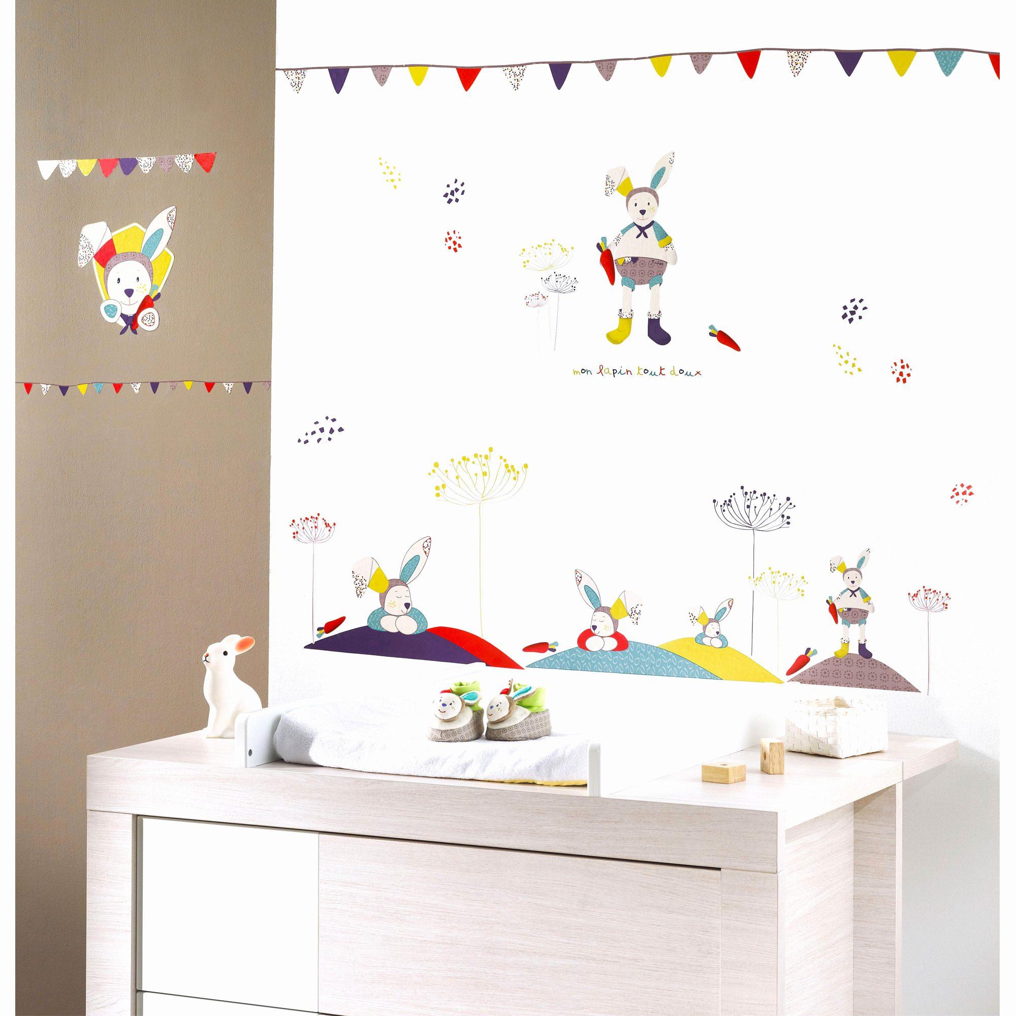 Lit Enfant Bois Génial Stickers Chambre Fille Beau Chambre Bebe Bois Blanc Belle Banquette