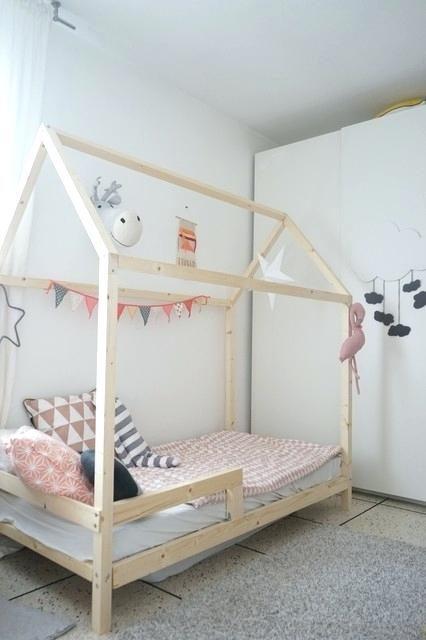 Lit Enfant Cabane Frais Fabriquer Lacchelle Du Lit Cabane Bon Sang De Bois Et En Couleur