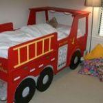 Lit Enfant Camion Nouveau Fire Station Loft Bed For Kids Site Has Full Tutorial Ana White