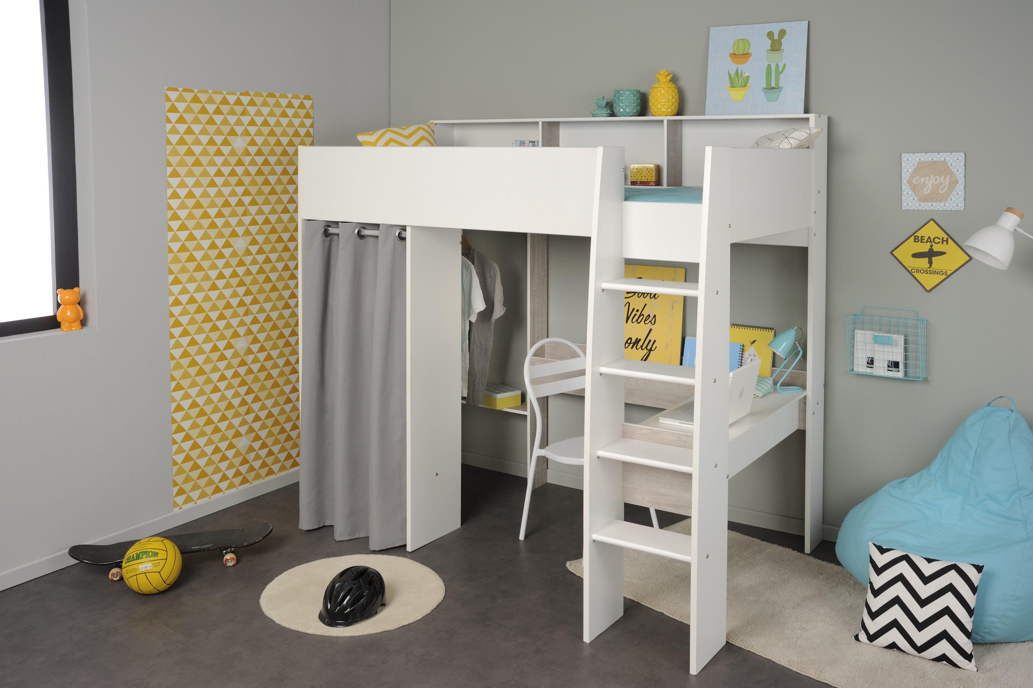 Lit Enfant Mezzanine Avec Bureau Charmant Lit Mezzanine Avec Bureau Enfant Lit Mezzanine Taylor