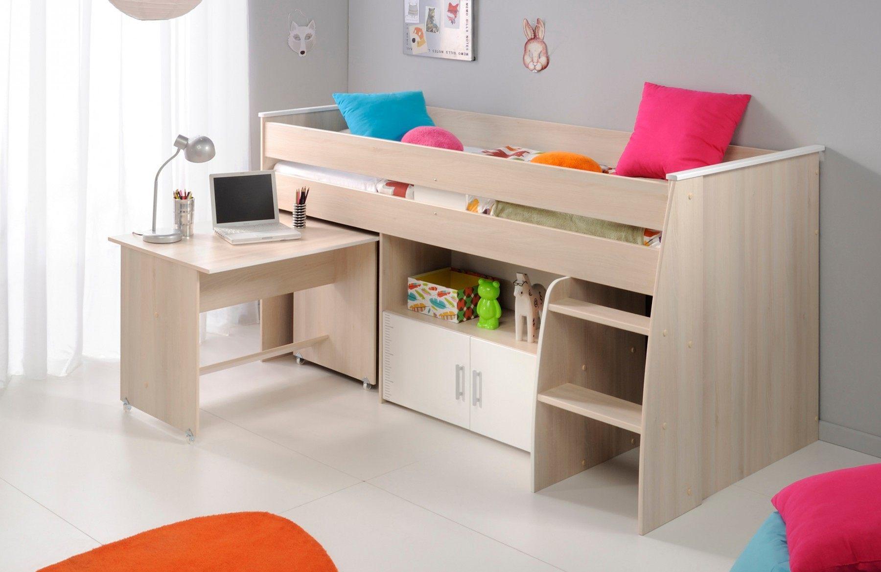 Lit Enfant Mezzanine Avec Bureau Luxe Lit En Hauteur Avec Bureau Elegant Lit Enfant Avec Bureau 10