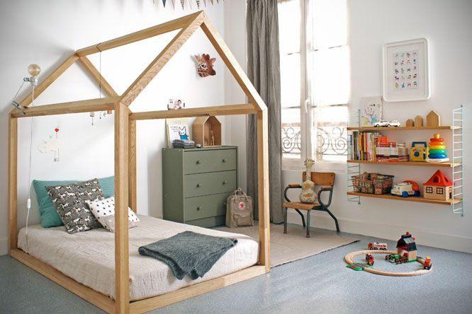 Lit Enfant Montessori Belle Kid Room Wooden toys