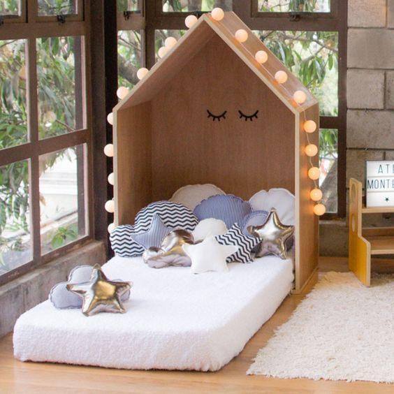 Lit Enfant Montessori Inspirant Te Cute Bedje Inspiratie Kinderkamer Kinderbed Kidsroom
