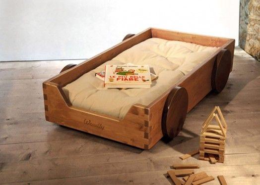 Lit Enfant Montessori Joli Berceau écologique Et original – La Nouvelle Collection Par Woodly