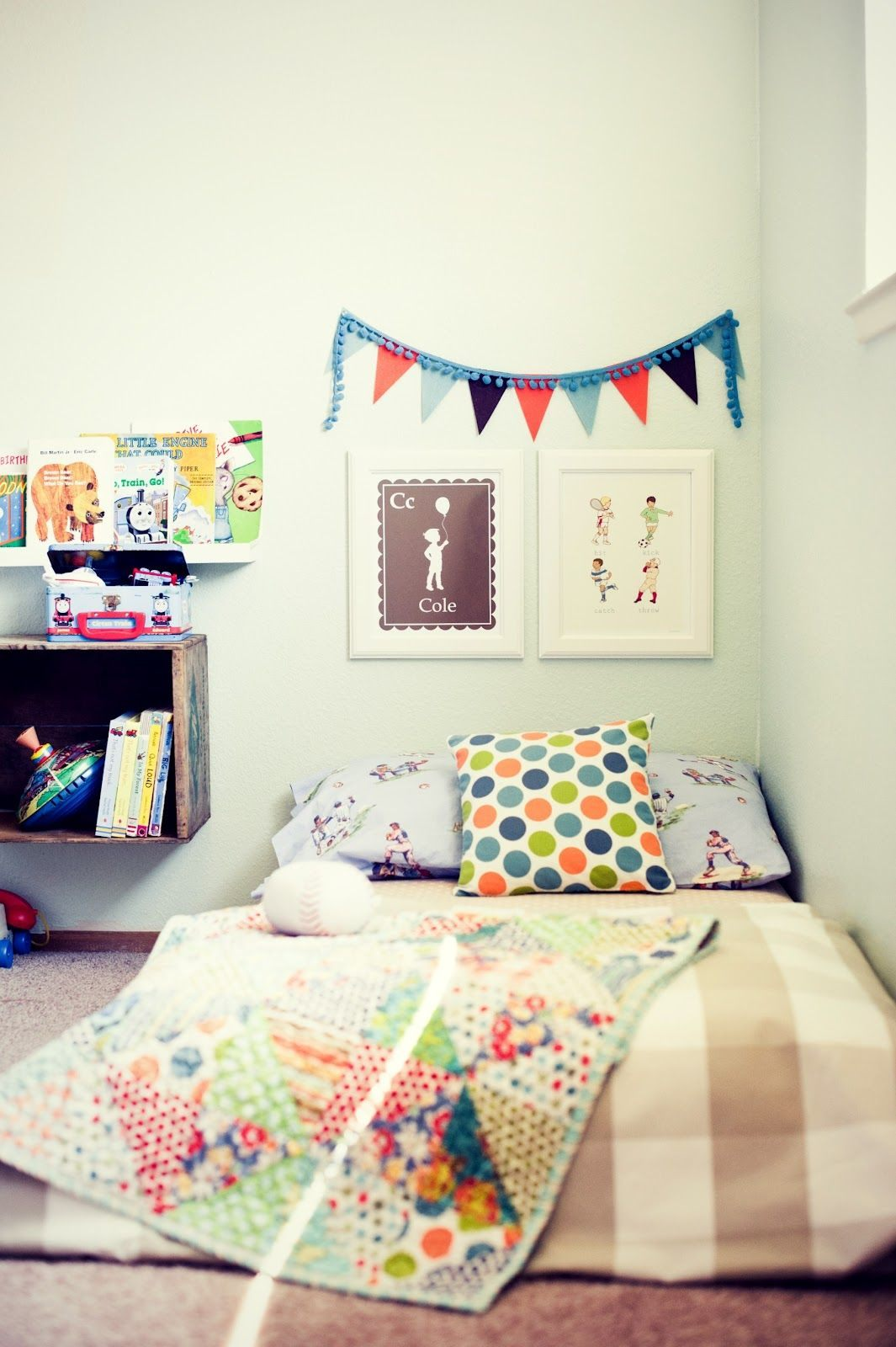 Lit Enfant Montessori Joli Mattress On the Floor = toddler Bed Montessori Nursery