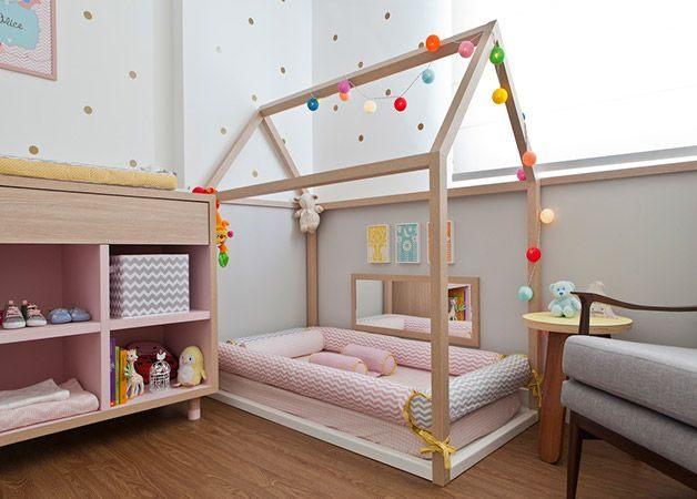 Lit Enfant Montessori Le Luxe Sele§£o Hypeness 10 Quartos De Bebª Decora§£o Criativa Para
