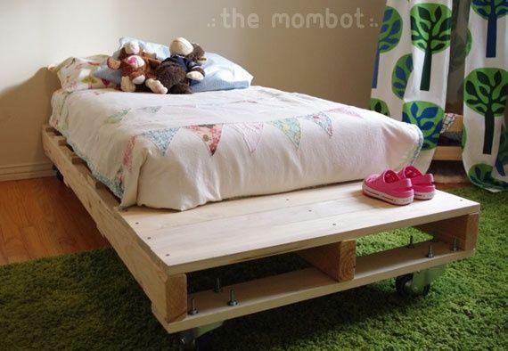 Lit Enfant Palette Unique Diy Pallet toddler Bed Pallet Bed Diy toddler Bed
