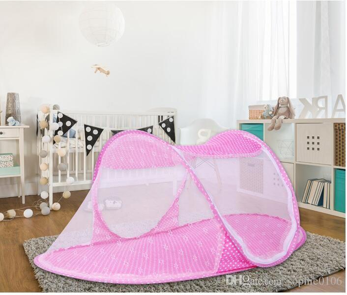 Lit Enfant Pliable Bel Acheter été Bébé Portable Moustiquaire Bébé Lit Pliant Mosquito