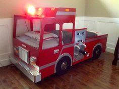 Lit Enfant Pompier Douce 7 Best Lit De Camion Images On Pinterest