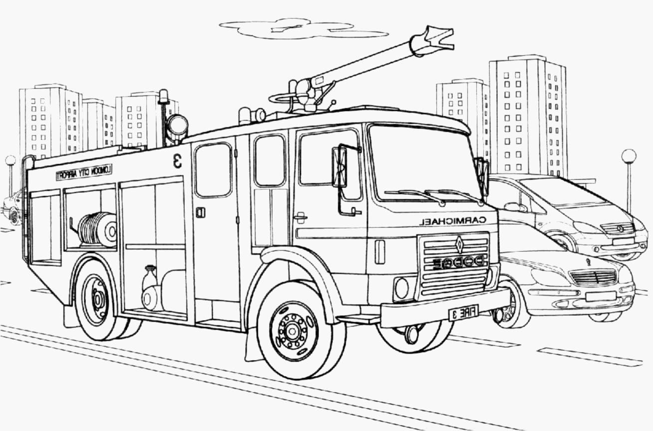 Coloriage Camion Sam Le Pompier 45 Awesome Coloriage Camion Pompier