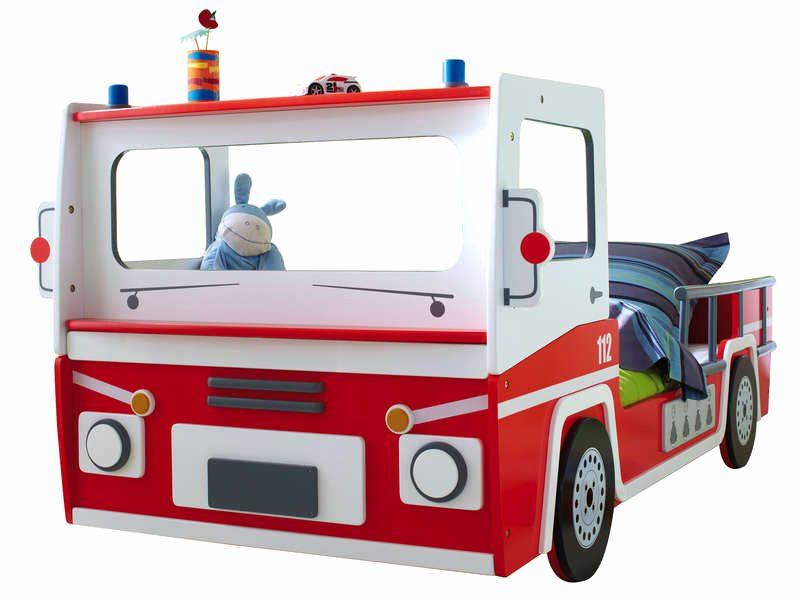 Lit Enfant Pompier Inspiré Location Camion Conforama Inspirant Lit Camion 90—190 Cm Pompier