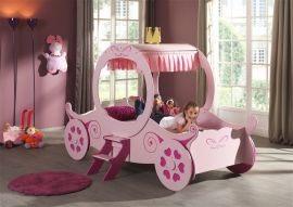 Lit Enfant Princesse De Luxe Royal Prinsessevogn 90×200 Kr 3790 Barnesenger