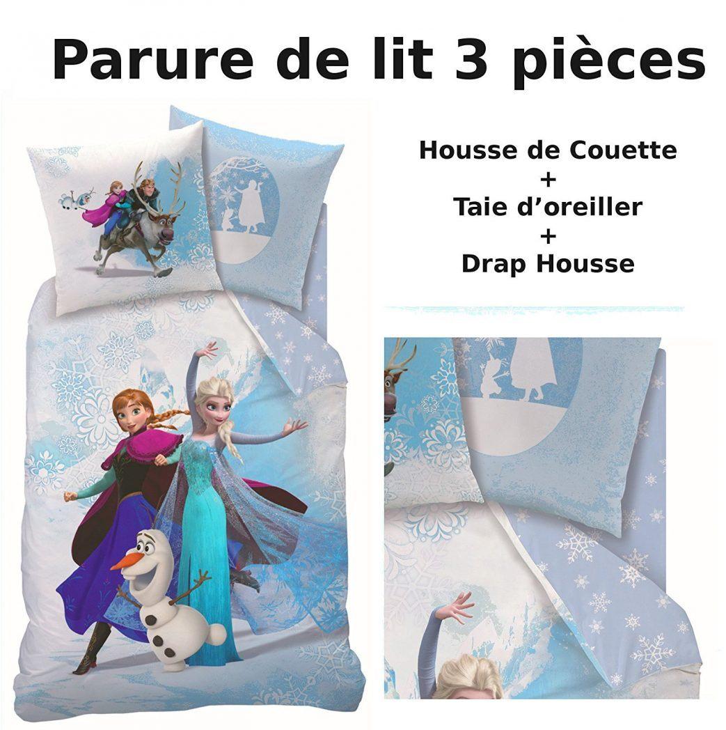 Lit Enfant Reine Des Neiges Douce Reine 140×200 200×200 Coucher Couette Des Housse Tringle Coussin