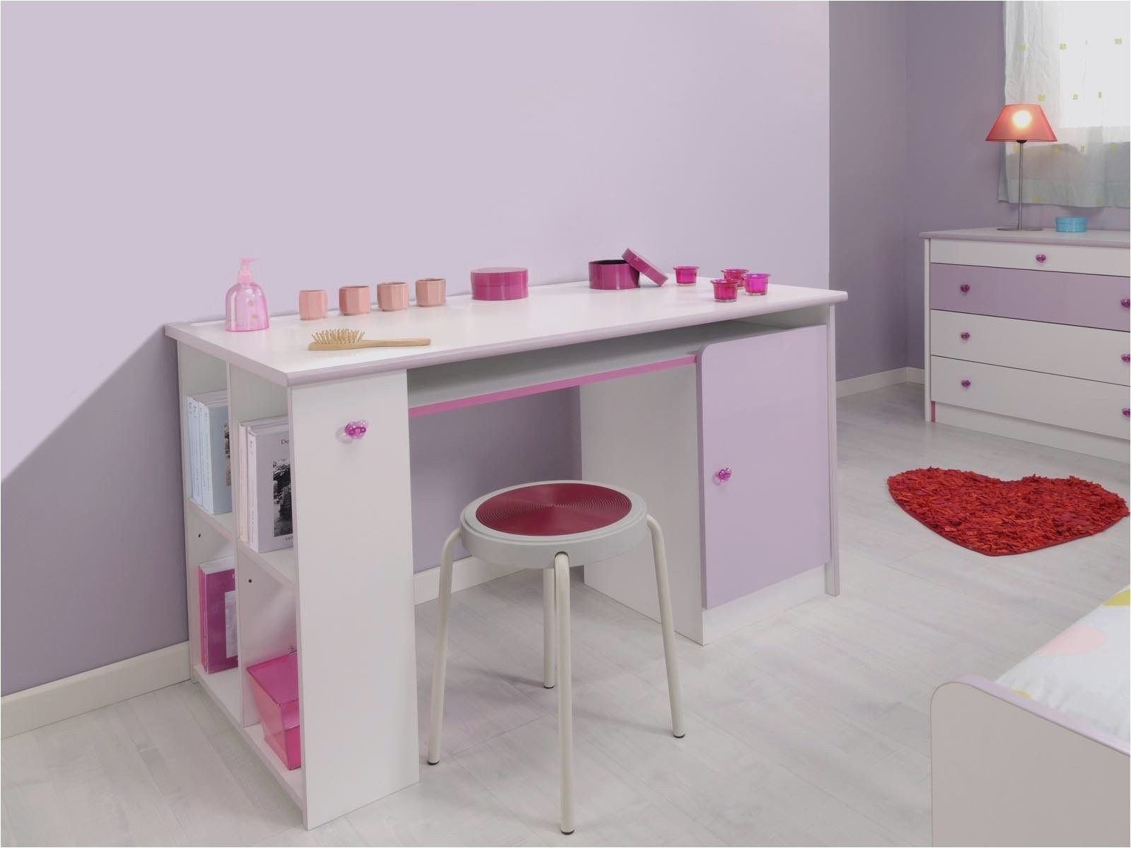 Lit Enfant Rose Beau Chaise Bureau Fille Chaise De Bureau Junior