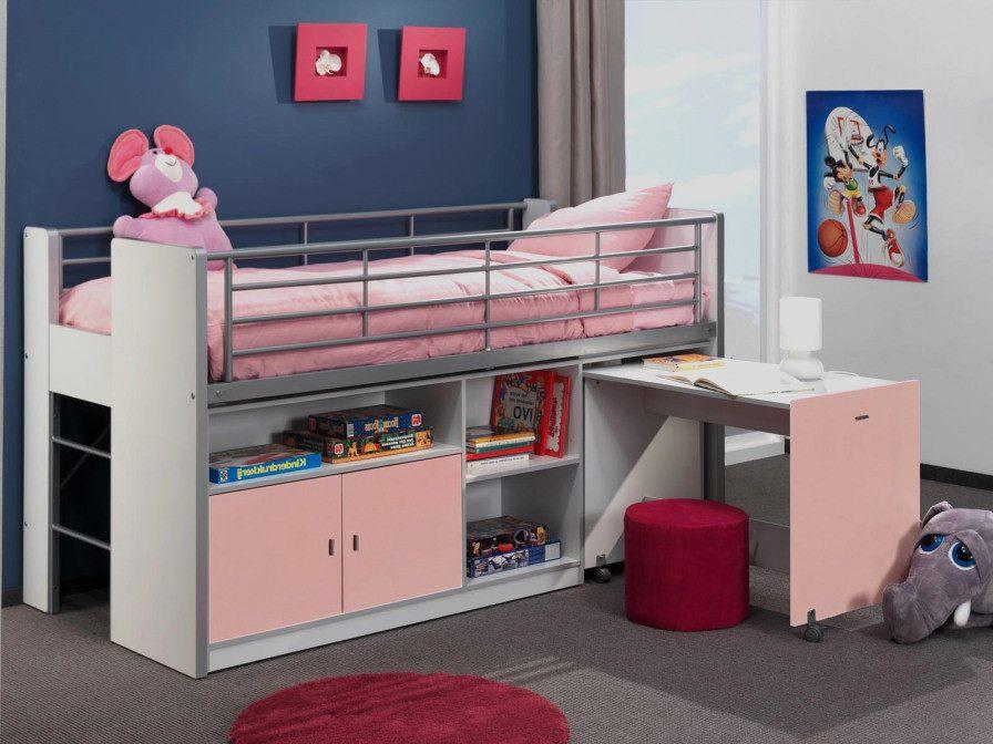 Lit Enfant Rose Génial Rideau Pour Lit Mezzanine Génial Lit Enfant Rose Lits Superposés