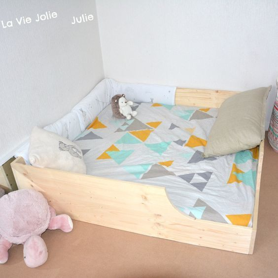 Lit Enfant sol Belle Lit Au sol Pour Bébé 2 Nouvelle Version