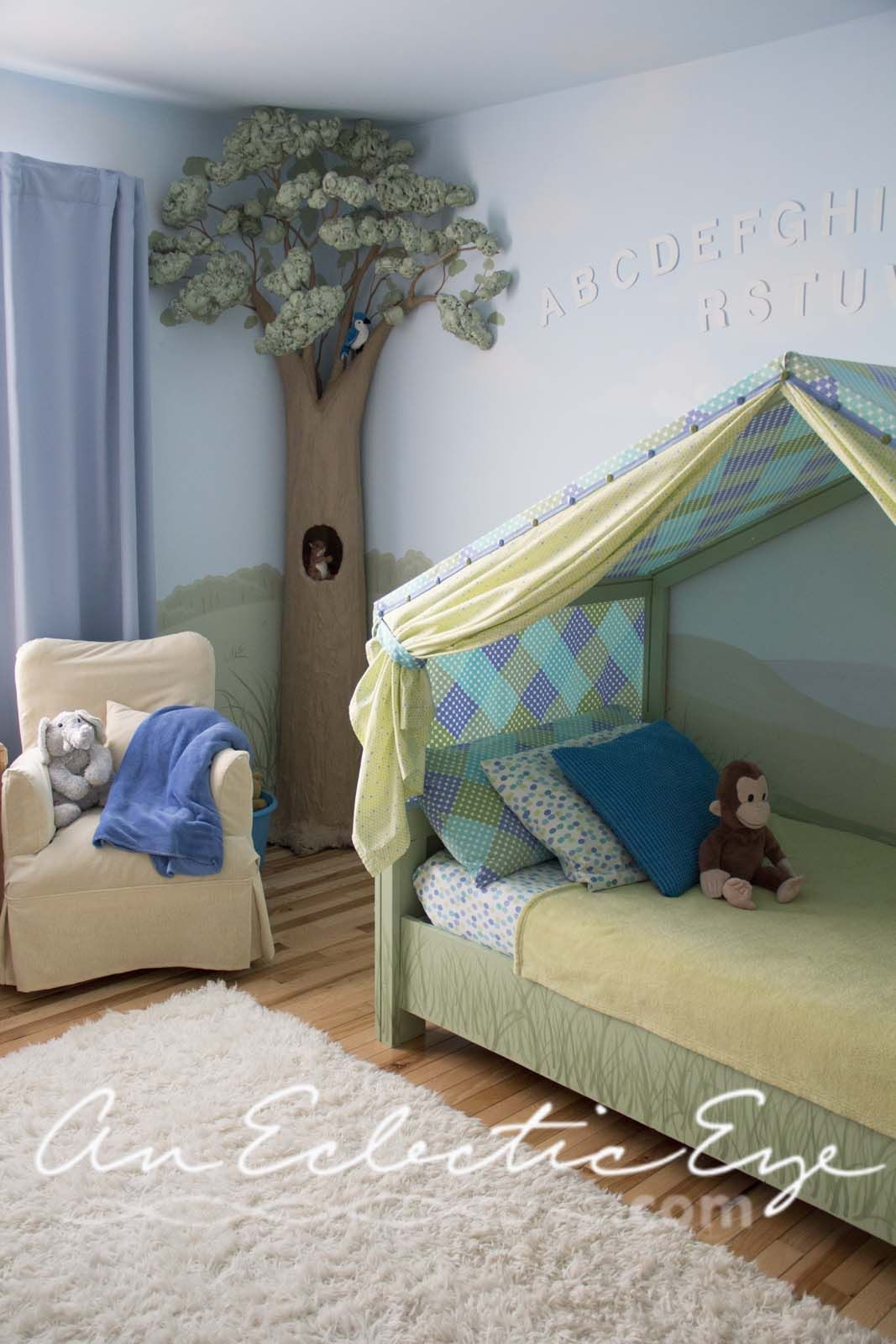Lit Enfant Tente Charmant Diy Bed Tent … Chambre Enfant Pinterest