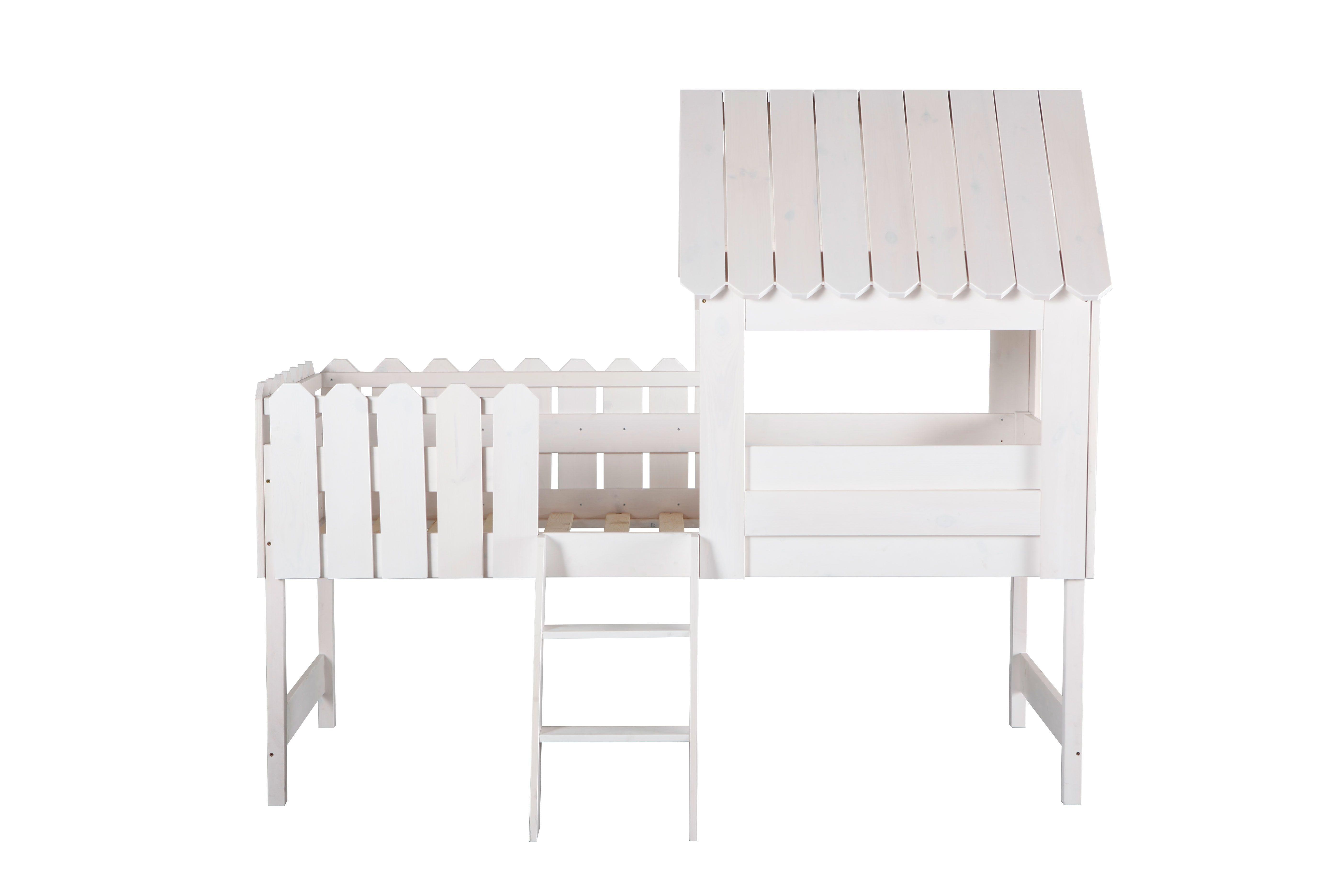Lit Enfant Tente Meilleur De Lit Cabane Enfant Blanc Little House Zoom