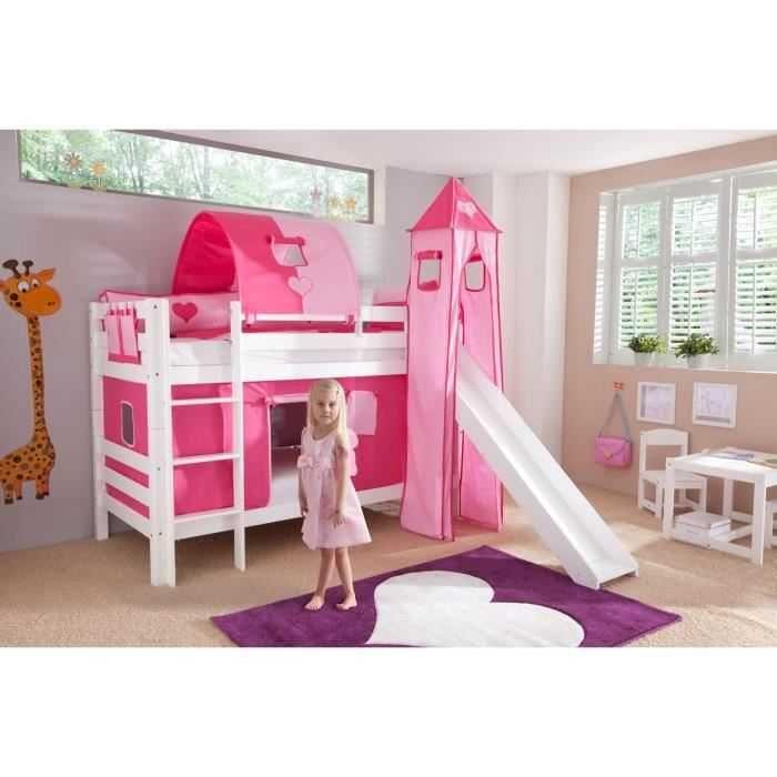 Lit Enfant toboggan Joli Woodland Lit Tªte De Lit Cabane Pour Les Makers Lit Enfant Garcon