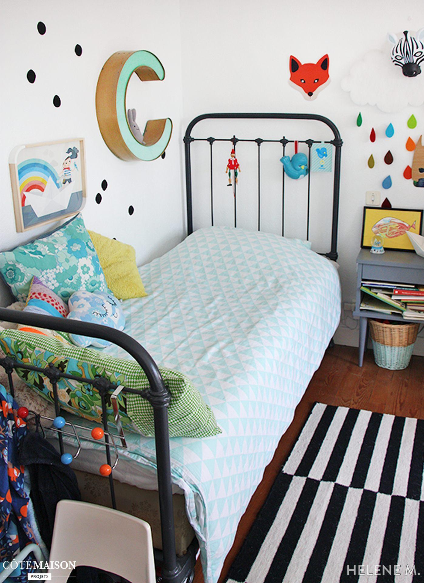 Lit Enfant Vintage Le Luxe Enchantant Chambre Enfant Coloree Avec Chambre D Enfant Vintage Et
