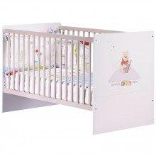 Lit Extensible Enfant Agréable Lit Bébé évolutif Disney Winnie Discovery 70 X 140 Cm