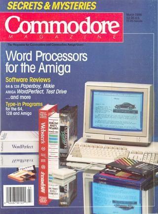 modore Magazine Vol 09 N03 1988 Mar by Zetmoon issuu