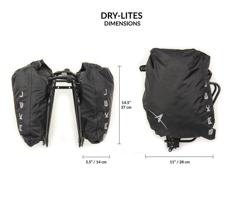 Dry Lites Saddle bags Waterproof saddle bags