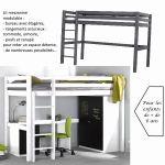 Lit Fille Mezzanine De Luxe Lit Mezzanine Bureau Escalier Mezzanine Design Chambre élégant Lit