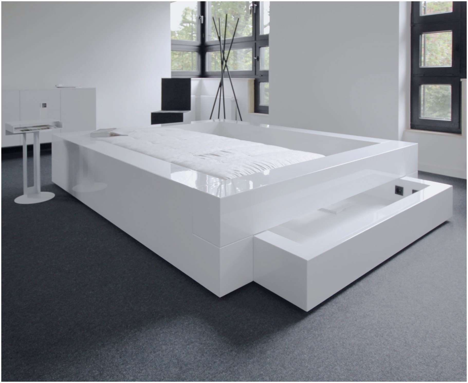 Lit Flaxa Ikea Joli Nouveau Ikea Line Betten Frisch Bett 160—200 Mit Matratze Frisch Lit
