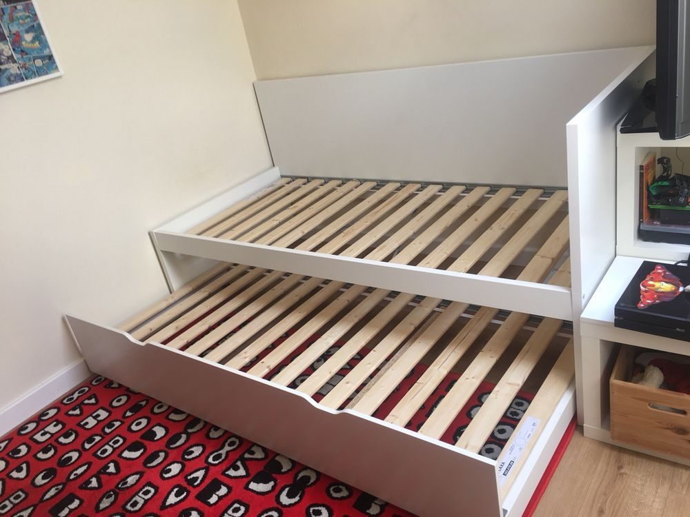 Lit Flaxa Ikea Unique Ikea Flaxa Single Bed Frame with Pull Out Guest Bed