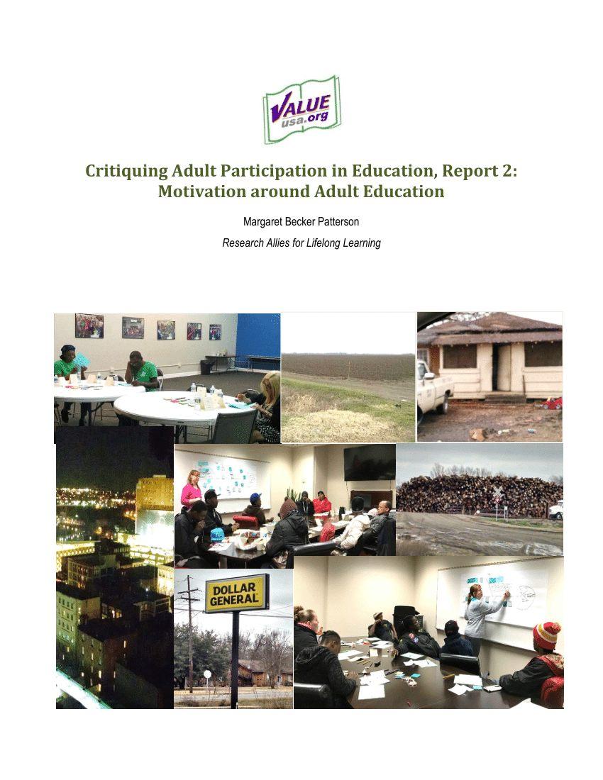 Lit Gain De Place Adulte Magnifique Pdf Critiquing Adult Participation In Education Report 2