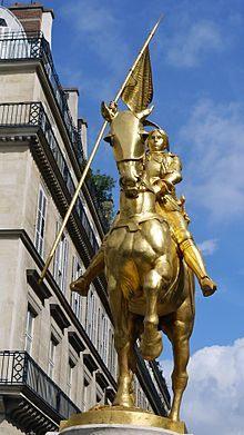 Lit Gain De Place Studio Élégant Cultural Depictions Of Joan Of Arc