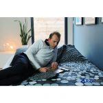 Lit Gonflable 2 Personnes Belle Intex Rest Bed Deluxe Fiber Tech 2 Places Matelas Gonflable