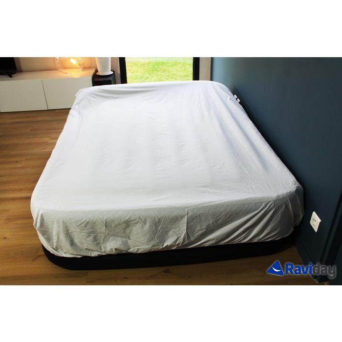 Lit Gonflable 2 Places Inspirant Intex Rest Bed Deluxe Fiber Tech 2 Places Matelas Gonflable
