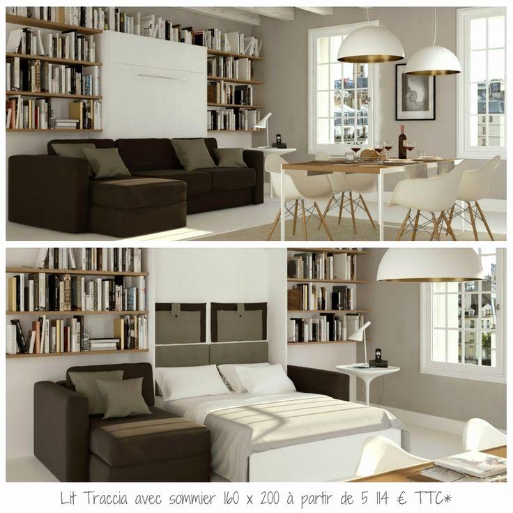 Lit Haut 160x200 Beau Lit Armoire Escamotable Schön Armoires Lits Escamotables Ikea