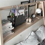 Lit Ikea Avec Rangement Inspirant Tete Lit Rangement Meilleur Lit Rangement 0d Image Les Idaces De Ma