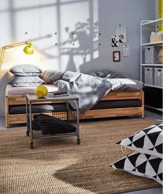 Lit Jumeaux Ikea Élégant Choisissez Un Lit Utilisable En Version Lit Simple Avec Les Deux