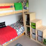 Lit King Size Ikea Inspiré Ikea Bunk Bed Stairs Hack Ikea Trofast Steps With Ikea Besta And