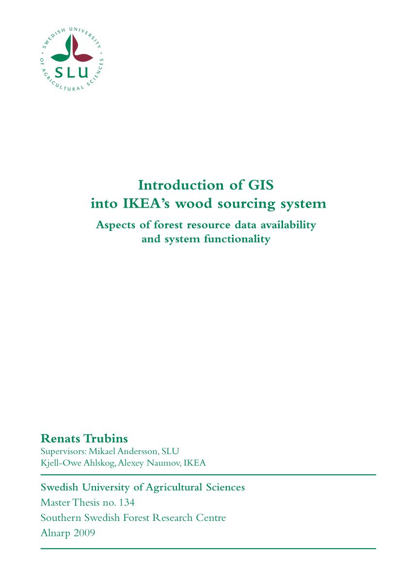 Lit King Size Ikea Inspiré Pdf Introduction Of Gis Into Ikea S Wood sourcing System aspects