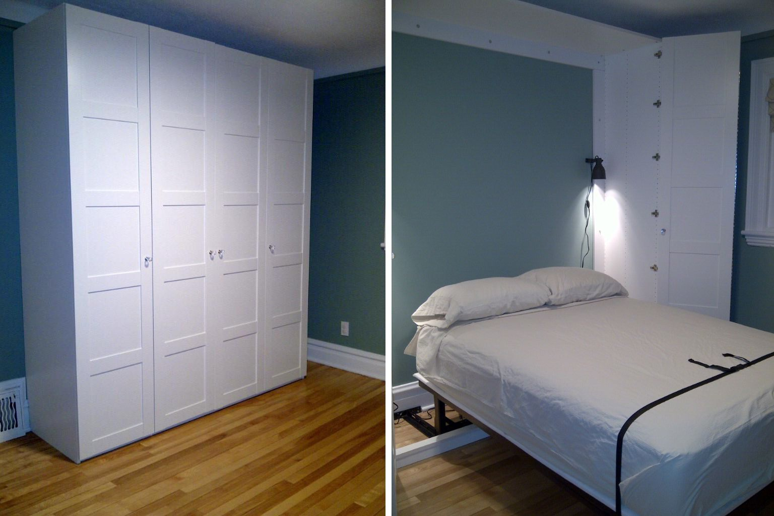 Lit King Size Ikea Le Luxe 12 Diy Murphy Bed Projects for Every Bud