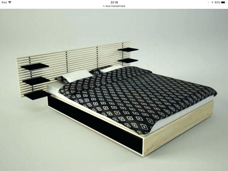 Lit King Size Ikea Magnifique Ikea Mandal Bed Frame Bed Frame Bed for Sale In Ca Buy and Sell