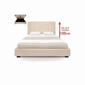 Lit Led Pas Cher De Luxe Lit Led 180—200 Nouveau fortable Bed Frame Bedroom Artificial