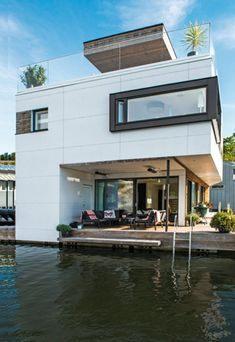 Lit Led Pas Cher Joli Лучших изображений доски Floating Home Fshore Maison Houseboat