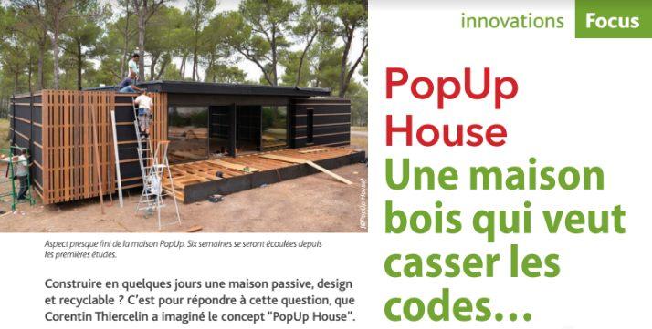 Lit Maison Bois Bel L Actualité Des Maisons Ossature Bois Popup House