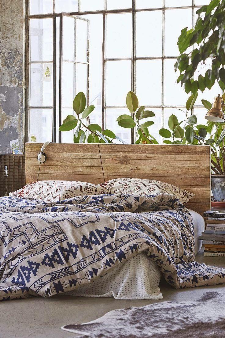 Lit Maison Bois Douce Ambiances Chez Urban Outfitters Habitat Pinterest