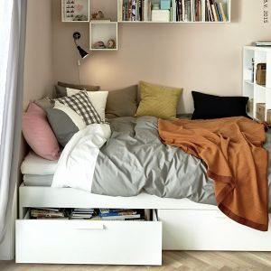 Lit Meuble Ikea Agréable Diy Ciel De Lit Idées Lit Avec Meuble Ikea Diy Lit Escamotable